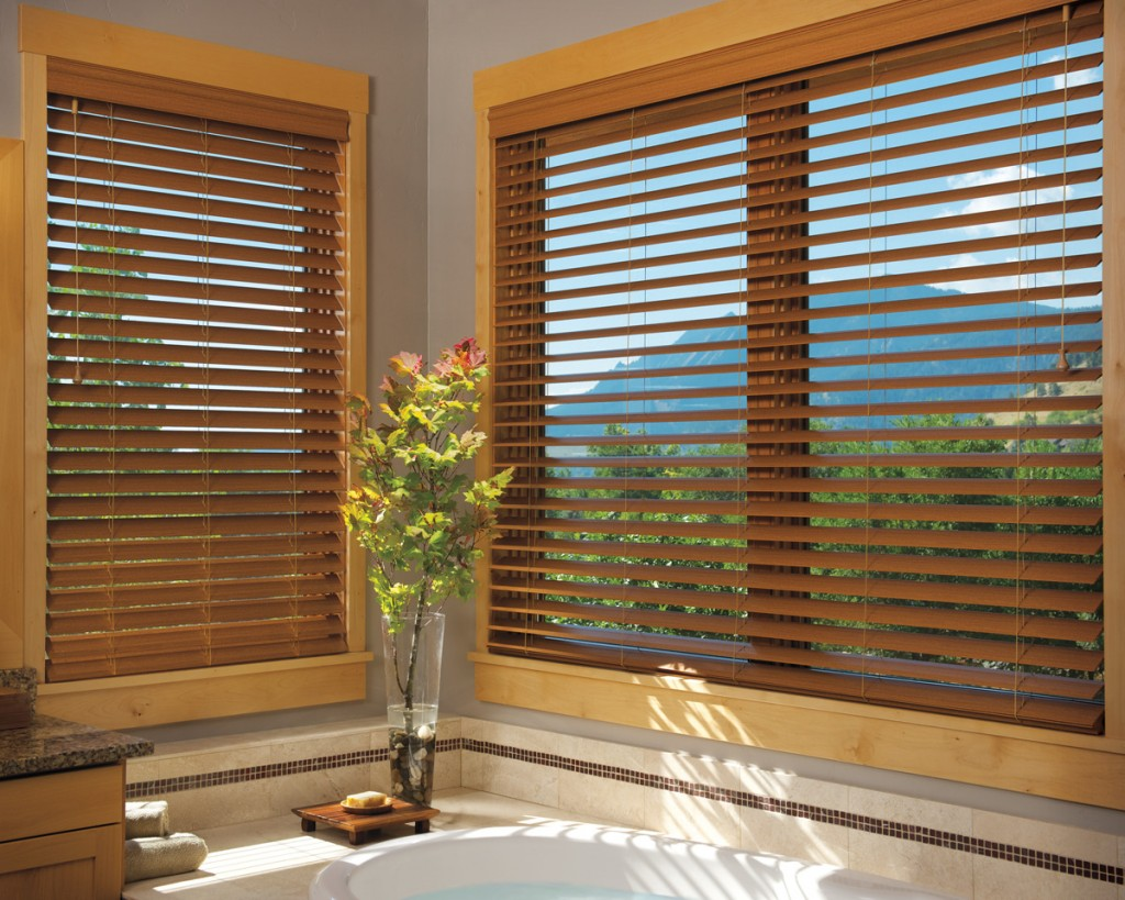 Characteristics of faux wood blinds